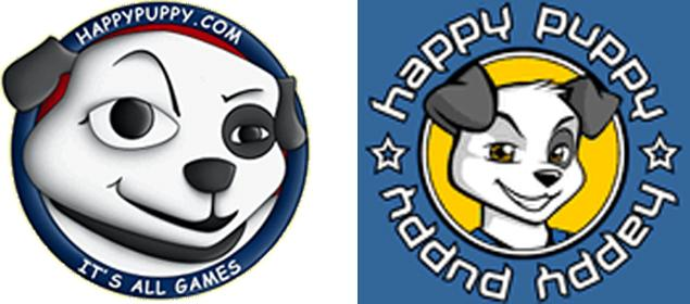 I don't know if the smug dog mascot was part of the site while they owned it or not. I certainly don't remember the one on the left.